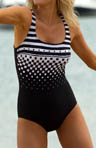 Reebok Mod Swim Tank One Piece Swimsuit 850500