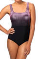 Dots to Diamonds One Piece Swimsuit Image