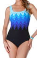 Electric Lightning One Piece Swimsuit Image