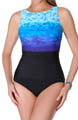 Surftastic High Neck One Piece Swimsuit Image