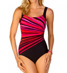 Vanishing Light Square Neck One Piece Swimsuit Image