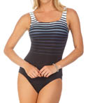 Sea to Shining Sea Square Neck One Piece Swimsuit Image