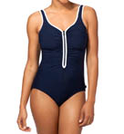 Zig Zag One Piece Swimsuit Image