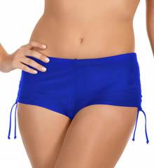 Reebok 871531 T Street Olivia Shirred Swim Bottom Ree001-871531