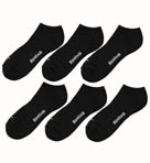 Reebok 6 Pair Cotton Low Cut Socks AKP351