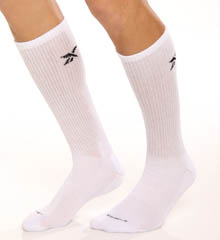6 Pair Cotton Crew Socks