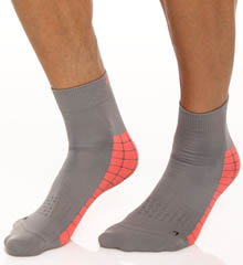 Reebok Ergo Flex Quarter Sock