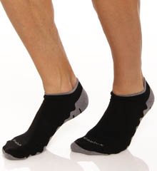 Reebok Wave Sole Low Cut Socks - 2 Pack