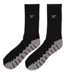 Wave Sole Crew Socks - 2 Pack