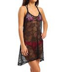 Crochet Hi Low Cover Up Dress Image
