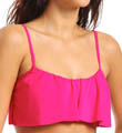 Solids Crop Swim Top Image
