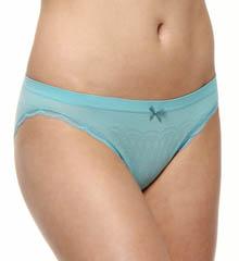 Rhonda Shear Delicate Divahh Lace Trim Bikini Panty 1B3086