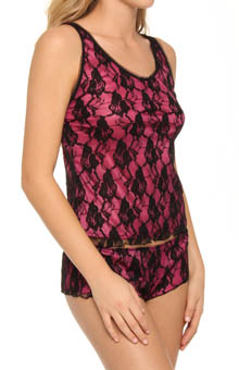 Cabaret Lace Camisole & Tap Set