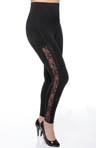 Rhonda Shear Ahh Ooh La La High Waist Lace Shaping Legging R1392
