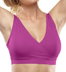 Rhonda Shear Ahh Crossroads Seamless Crossover Leisure Bra R1693