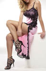 Rhonda Shear Sweet Beverly Butterknit Lace Long Nightgown R6534