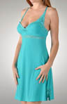 Rhonda Shear Sweet Breeze Molded Cup Butternit Gown R7900B
