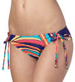 Roxy Brazilian Chic 70s Lowrider Tie Side Swim Bottom 400111