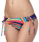 Brazilian Chic 70s Lowrider Tie Side Swim Bottom Image