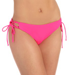 Fun & Flirty Lowrider Tie Side Swim Bottom Image