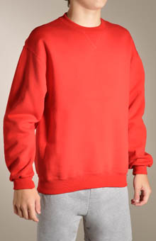 Boys Dri Power Crewneck Sweatshirt