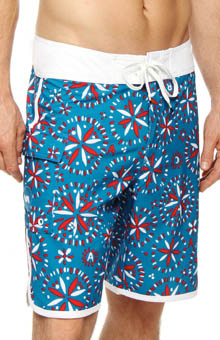 RVCA Signs Swim Trunks