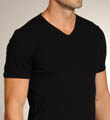 Schiesser Retro Rib V-Neck Shirt 223626