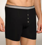 Retro Rib Button Fly Boxer Briefs