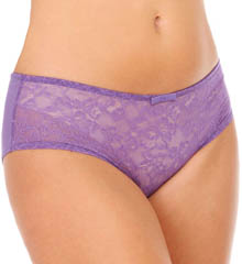 Sculptresse by Panache Pure Lace Short Panty 6934