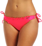 Shimmer Hipster Tie Side Swim Bottom
