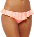 Shimmer Hipster Swim Bottom with Frill Image