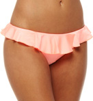 Shimmer Hipster Swim Bottom with Frill