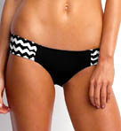Mod Club Ruched Side Swim Bottom Image