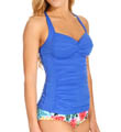 Goddess Twist Bandeau Tankini Swim Top Image