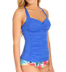 Twist Bandeau Tankini Swim Top