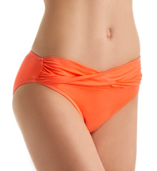 Seafolly Goddess Twist Band Hipster Swim Bottom