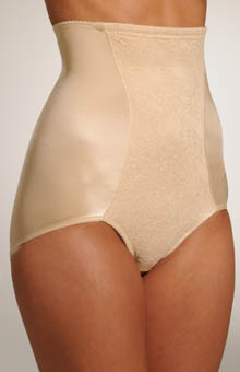 Hi-Waist Lace Brief Panty