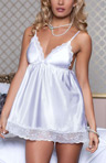 Enchanting Satin Babydoll Image