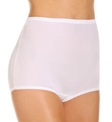 Shadowline Pants & Daywear Nylon Spandex Brief Panty - 3 Pack 17005pk
