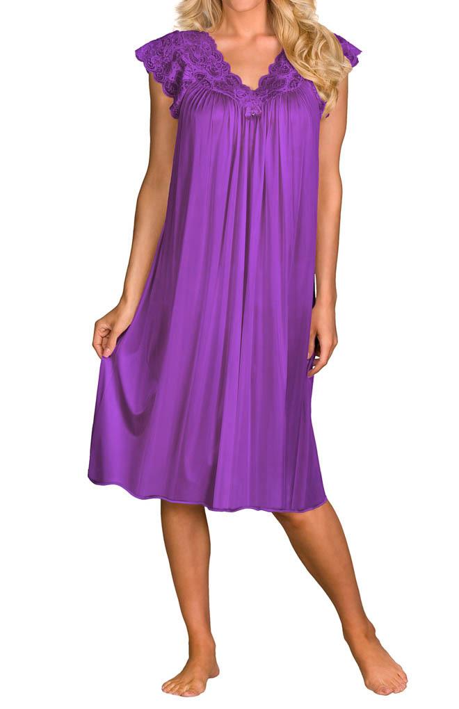 Vanity Fair Nylon Nightgowns Stunning Vanity Fair Drape