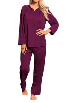 Shadowline Petals Long Sleeve Pajama 76283