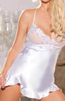 Shirley of Hollywood Charmeuse And Lace Chemise 20513
