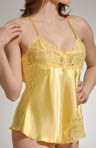 Charmeuse And Lace Babydoll