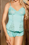 Shirley of Hollywood Super Soft Knit Camisole And Boyshort Panty Set 2124