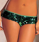 Shirley of Hollywood All Over Sequin Booty Short Panty 281