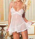 Shirley of Hollywood Chopper Bar Lace And Net Babydoll 3232
