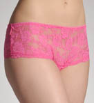 Shirley of Hollywood Stretch Lace Open Front Boyshort Panty 47