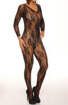 Shirley of Hollywood Floral Lace Bodystocking 90003