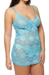 Shirley of Hollywood Plus Size All Over Stretch Lace Chemise X25307