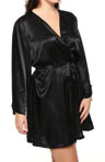 Shirley of Hollywood Plus Size Silky Charmeuse Kimono X3233